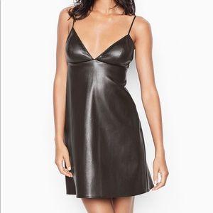 Victoria secret leather dress